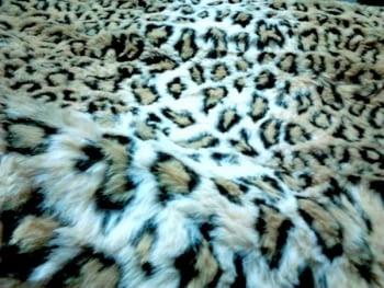 Manta pelo leopardo