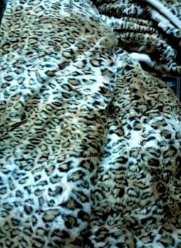 Manta pelo leopardo - 1