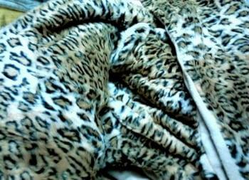 Manta pelo leopardo - 4