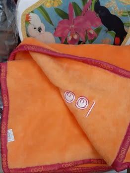 Manta cama 90 Manterol naranja Cool - 2