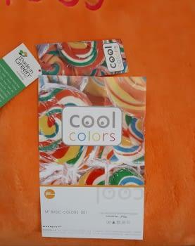Manta cama 90 Manterol naranja Cool - 5