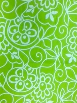 Cortina verde - 2