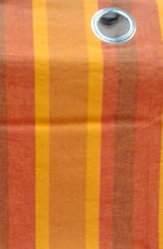 Cortina naranja - 1