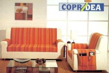 Salva sofás naranja