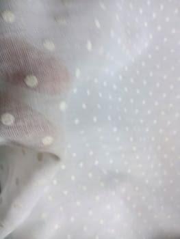 Tela Plumeti blanco - 1