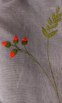 Malla flor - 1