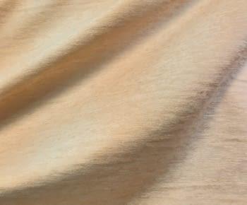 Tela Chenilla melocotón pastel - 1