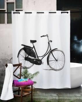 Cortina baño bicicleta