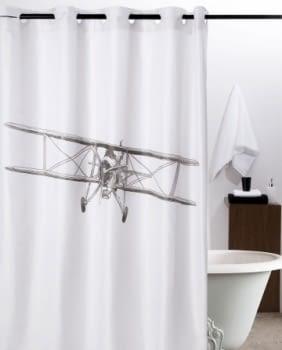 Cortina baño avioneta