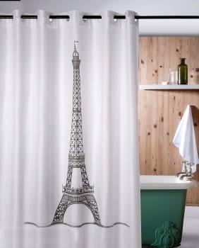 Cortina baño Torre Eiffel
