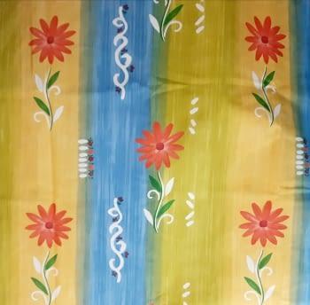 Tela flores coloridas 280