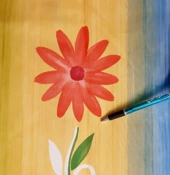 Tela flores coloridas 280 - 2