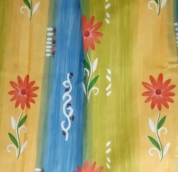 Tela flores coloridas 280 - 4