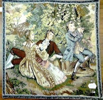 Cuadrante tapiz flauta