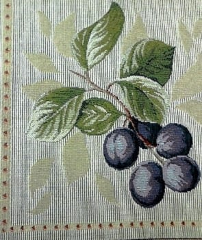 Cojín tapiz uvas - 1