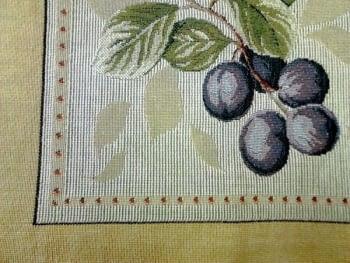 Cojín tapiz uvas - 2