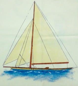 Funda cojín barco - 2