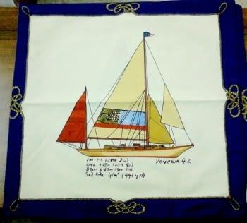Funda cojín barco - 1