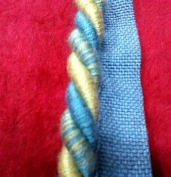 Cordón azul amarillo - 1