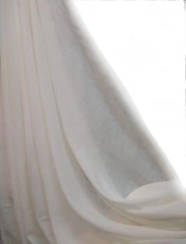 Tela visillo beige Nácar (Brera: Yute) 300 - 2