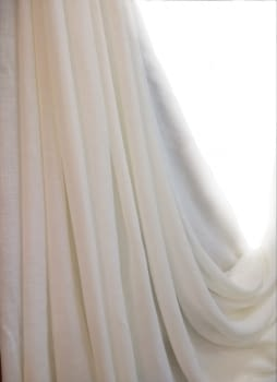 Tela visillo beige Nácar (Brera: Yute) 300 - 4