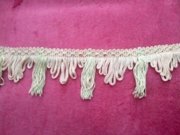 Flecos rosa claro beige - 1