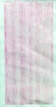 Cortina baño rosa - 1