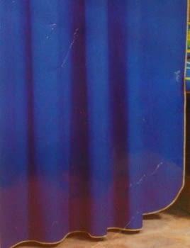 Cortina baño azulona - 1