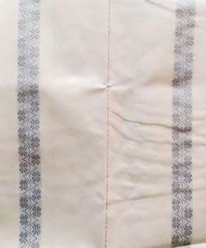 Cortina baño raya plata - 2