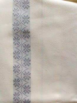 Cortina baño raya plata - 3