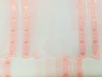 Cortina baño rosa - 2