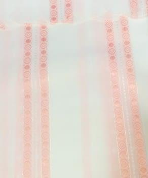 Cortina baño rosa - 3