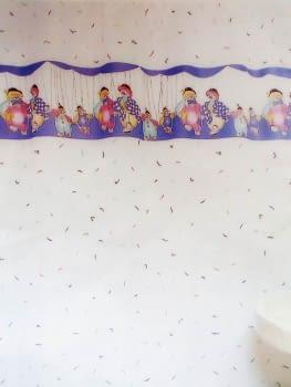 Cortina baño payasos - 1