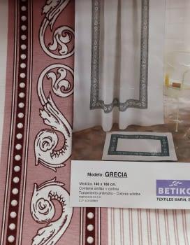 Cortina baño Grecia - 1