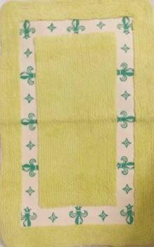 Alfombra verde picas