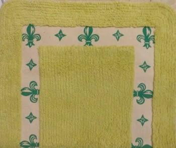 Alfombra verde picas - 1