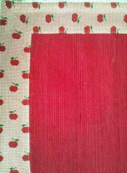 Alfombra manzanas rojas - 1