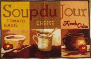 Alfombra antideslizante soup