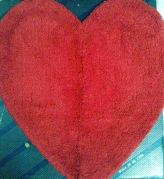 Alfombras corazones