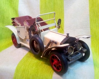 COCHE ANTIGUO BLANCO