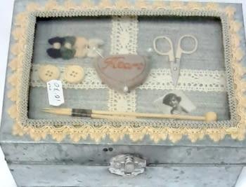 Caja metálica costura - 3