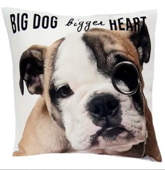 Cojín perro bulldog 45 x 45