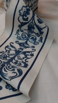 Greca jarrones azul - 5