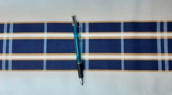 Greca cuadros azules - 2