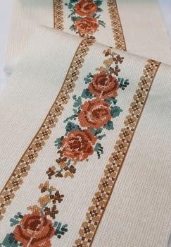 Greca flor teja - 1