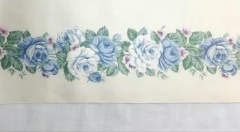 Greca flores satinada - 3