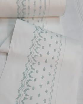 Greca sábana verde - 1
