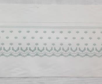 Greca sábana verde - 2