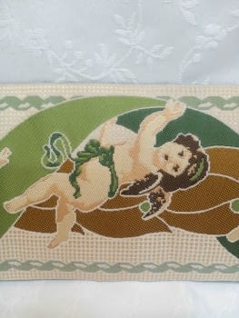 Greca ángeles verde - 2