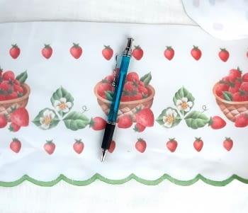 Greca fresas verde - 1